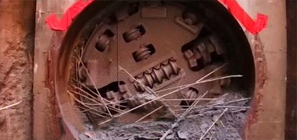 Строители газопровода Сила Сибири-1 прорубили 2-й тоннель под р Амур (ФОТО)