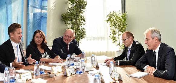 Поставки газа, Северный поток-2 и культура. Газпром и OMV обсудили основные направления сотрудничества