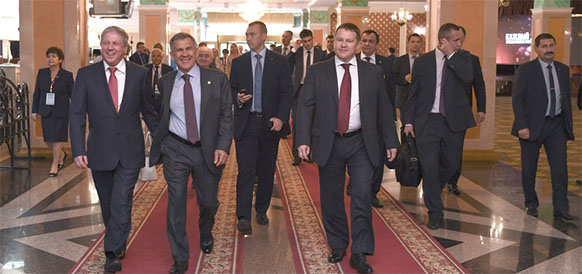 Для республики Татарстан сотрудничество с Газпромом - один из важнейших факторов, обеспечивающих устойчивое развитие экономики