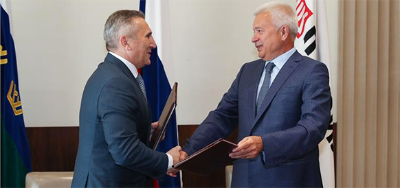 LUKOIL develops cooperation with Tyumen region