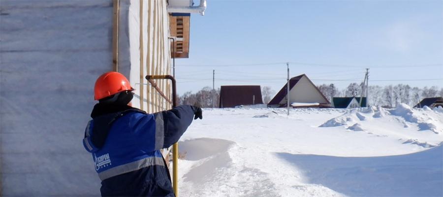 В с. Нагорное Новосибирской области введен в эксплуатацию новый газопровод