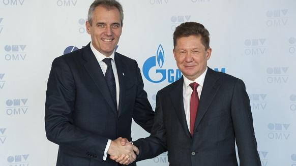 Gazprom and OMV sign Memorandum of Understanding on oil supply