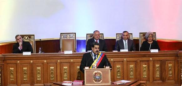 Н. Мадуро поднял стоимость El Petro в 4 раза и пообещал увеличить добычу нефти в Венесуэле 5 млн барр./сутки