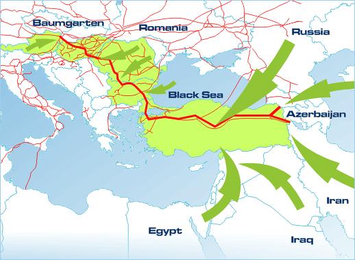 Европа ставит под сомнение газ Ирана