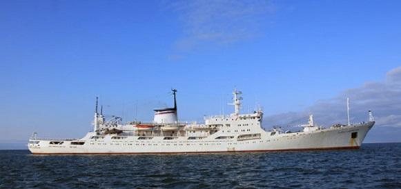 Исследовательское судно Балтийского флота «Адмирал Владимирский» впервые в новейшей истории зашло на Маврикий