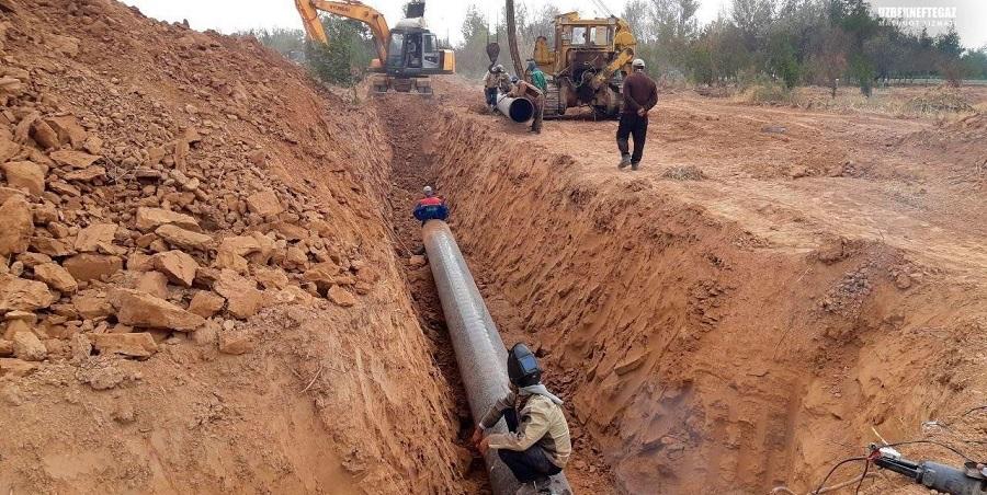 Узбекнефтегаз приступил к строительству газопровода для подачи газа на Uzbekistan GTL