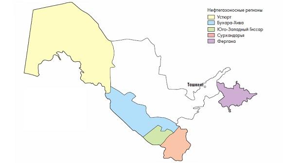 Нефть, газ и энергетика Узбекистана