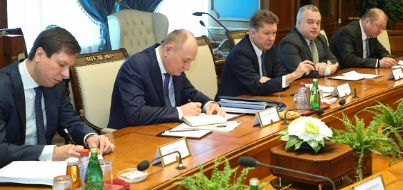 Gazprom and Uniper discuss ongoing cooperation
