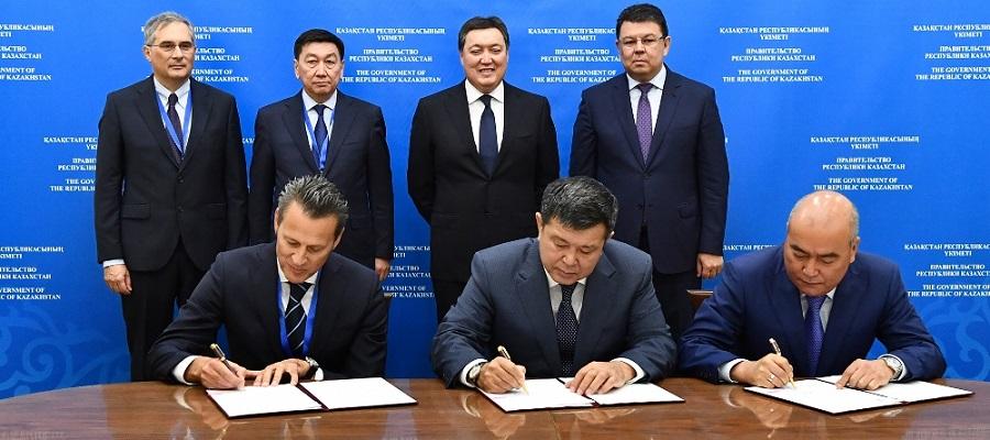 КазМунайГаз и Eni подписали протокол прямых переговоров по проекту Абай