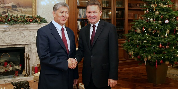 Gazprom providing reliable gas supplies to growing market of Kyrgyzstan