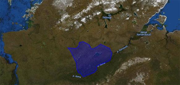 Росгеология исследует Новокубалахскую площадь на Таймыре, перспективную на углеводороды