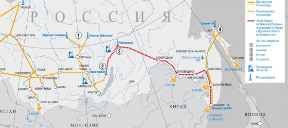 Power of Siberia gas pipeline completed by 90.5 %, 1,954 kilometers built