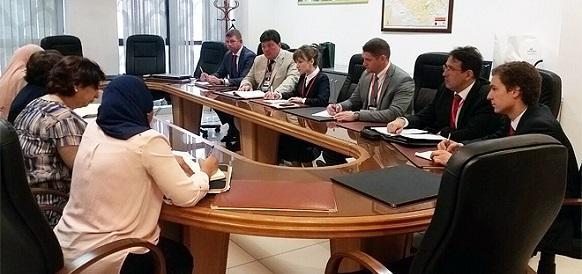 Transneft Delegation on a Visit to Algeria