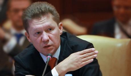 А.Миллер: Киев не выполнил условие контракта, не рассчитавшись в срок за поставленный газ