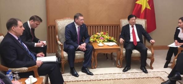 Зарубежнефть обсудила во Вьетнаме будущие проекты в СП Вьетсовпетро и Русвьетпетро