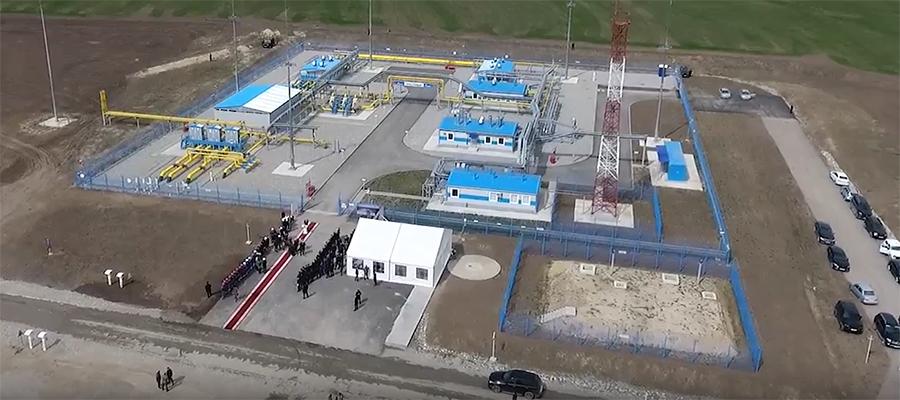 В Чеченской республике в эксплуатацию введен магистральный газопровод Моздок - Грозный