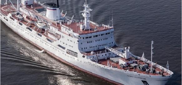 Океанографическое исследовательское судно «Адмирал Владимирский» произвело около 13 тыс км маршрутного промера глубин в Индийском океане