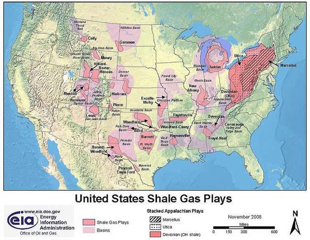 США 5-ый год лидирует по объёмам добычи газа