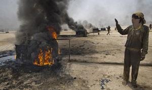 В Восточной Сирии боевики организовали производство нефтепродуктов на дому. Натуральное хозяйство