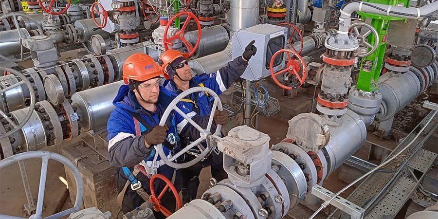 На Амурском ГПЗ начались испытания под нагрузкой установки осушки и очистки газа 1-й линии завода