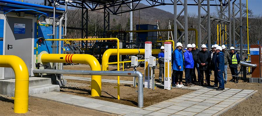 Гелиевый хаб Газпрома в Приморском крае подключен к газу. Для пусконаладки на СПГ-установке
