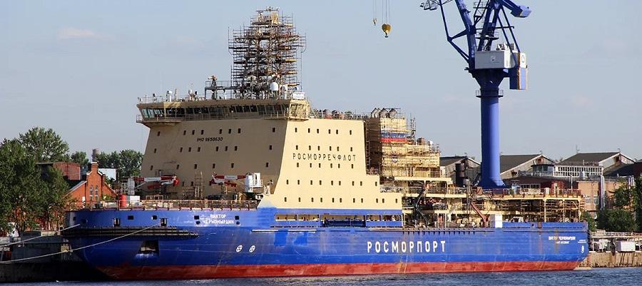 Снова откладываются. Испытания дизель-электрического ледокола «Виктор Черномырдин» перенесены на весну 2020 г.