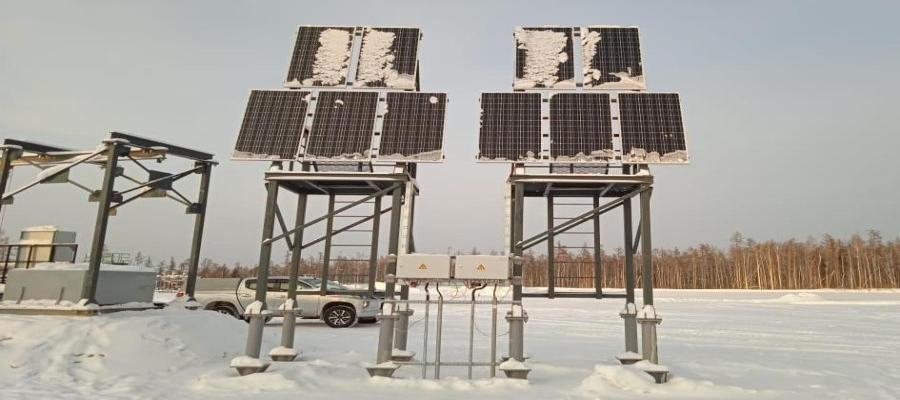 Иркутская нефтяная компания запустила 1-ю скважину, управляемую с помощью солнечной энергии
