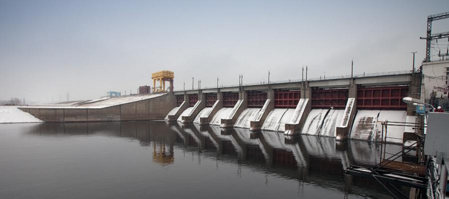 На Воткинской ГЭС ведутся работы по модернизации оборудования