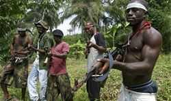 Нигерийские боевики атаковали цены на нефть