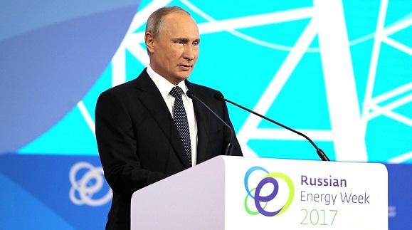 В. Путин на РЭН-2017: Ведущую роль в ближайшие 25 лет будут играть углеводороды, особенно в условиях, когда ряд стран добровольно ограничивают развитие атомной генерации