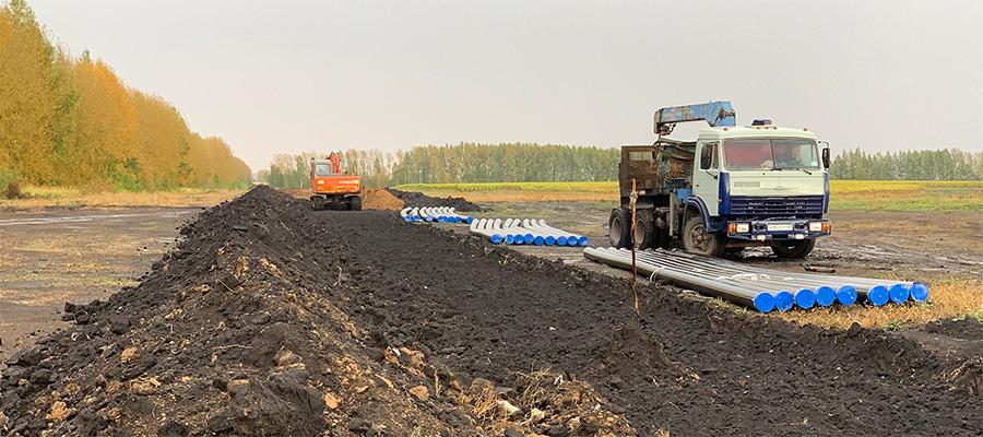 В Пензенской области началось строительство нового межпоселкового газопровода в с. Средняя Елюзань