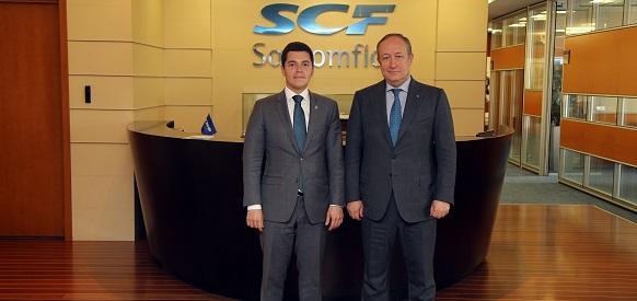 Врио губернатора ЯНАО Д. Артюхов посетил с рабочим визитом штаб-квартиру Совкомфлота в г Москве