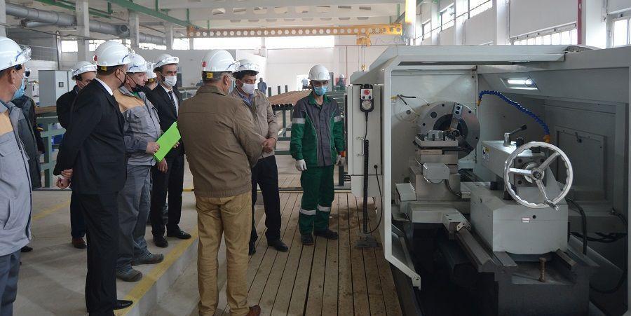Татнефть запустила в Туркменистане участок по ремонту насосно-компрессорных труб