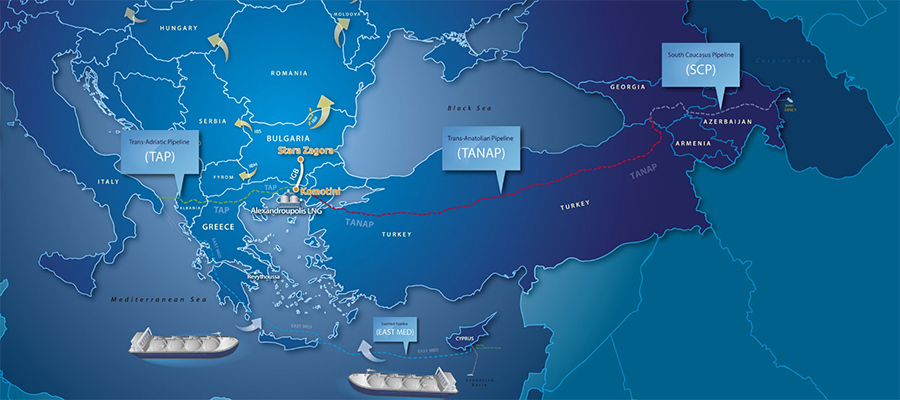 USA: Southern Gas Corridor plays important role in Balkans' energy supply