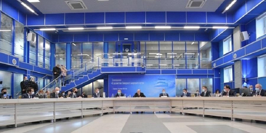 А. Новак принял участие в совещании о развитии Северного морского пути под руководством М. Мишустина в г. Мурманск