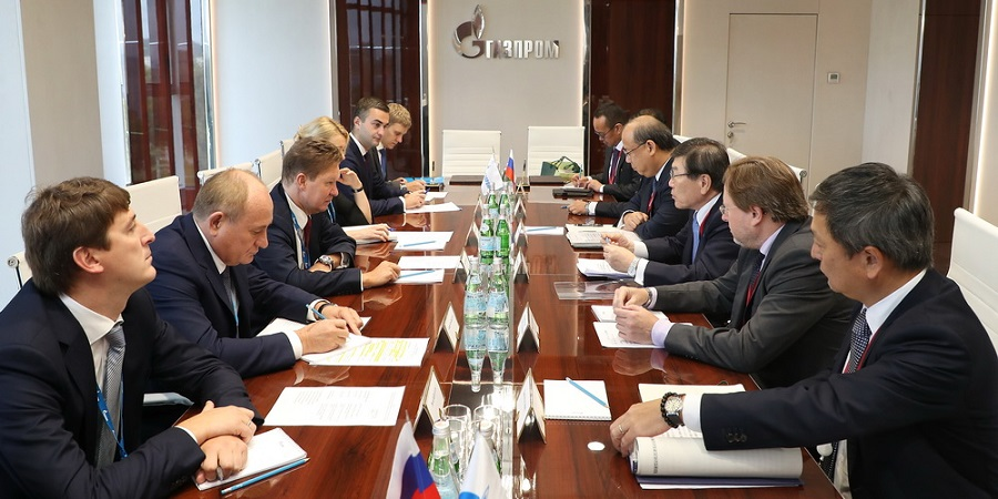 Gazprom discussed prospects for wider cooperation with Korean KOGAS and Japan Mitsui