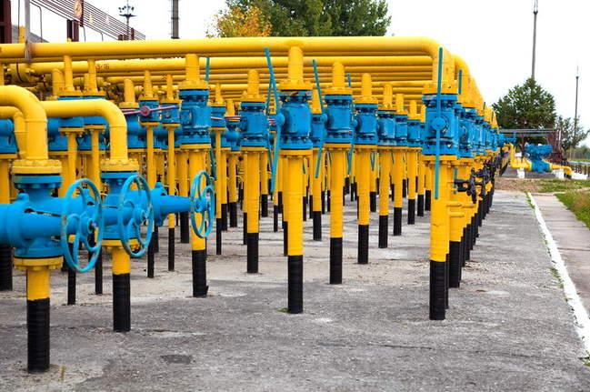 В ПХГ Украины осталось менее 9 млрд м3 газа