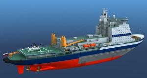 Новая «Арктика» получит свой атомный реактор уже в 2015 г
