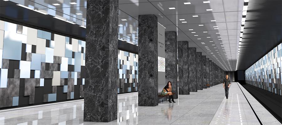 Россети Московский регион обеспечат электроэнергией механизацию строительства станции метро Лианозово