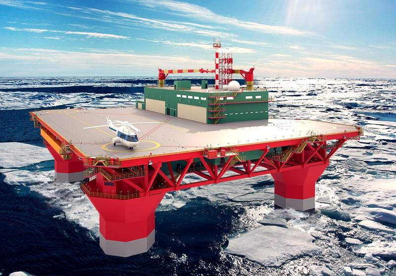 ЦКБ МТ Рубин спроектировало для Штокмана морскую вертолетную платформу для Штокмана