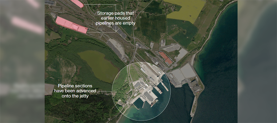 Хроники газопровода Северный поток-2. Пересогласование с Данией и подготовка в порту Мукран