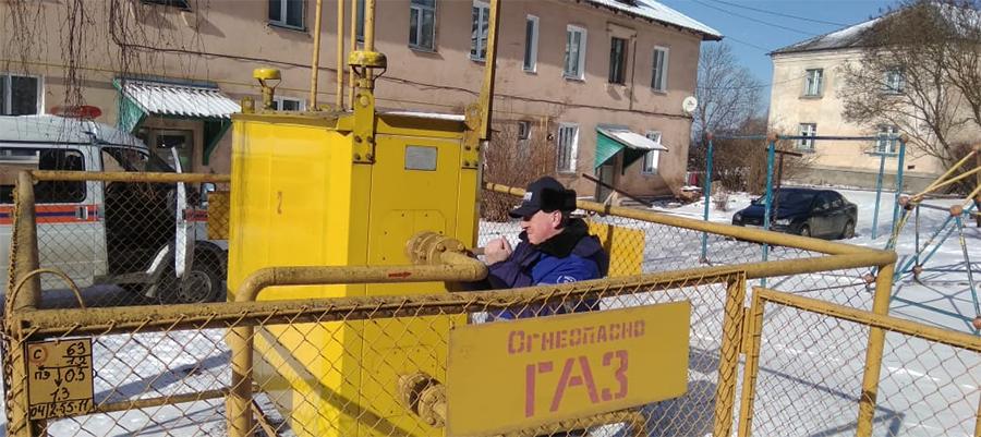 Газпром газораспределение Псков оперативно устранил последствия повреждения газопровода в г. Невель