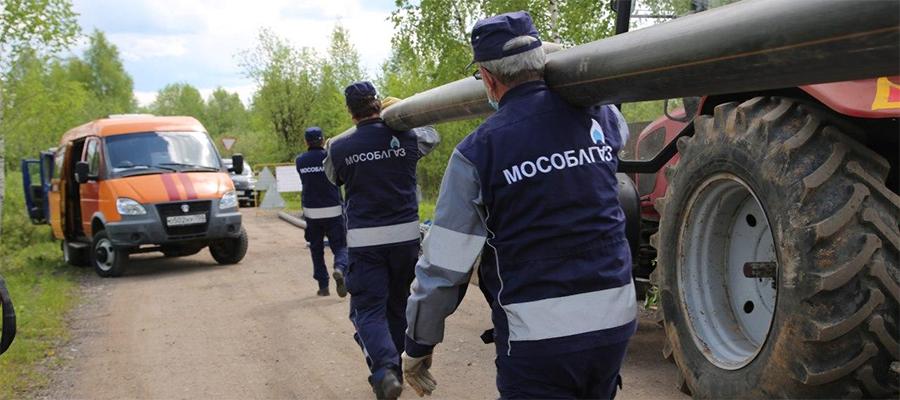 В Московской области газифицирована д. Маслово г.о. Кашира