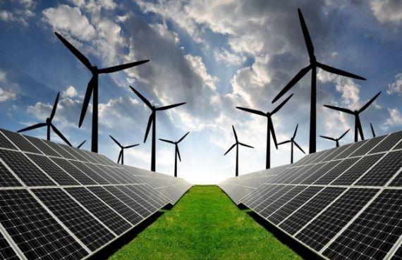 Потенциал использования солнечной и ветровой  энергии в топливно-энергетическом комплексе россии