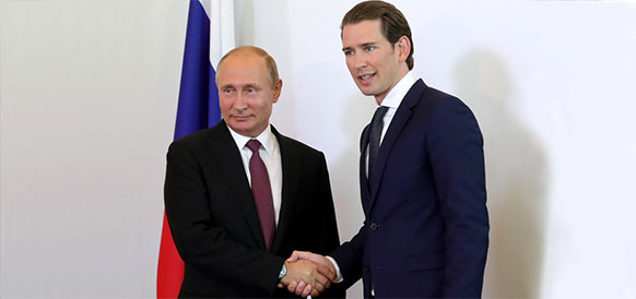 В. Путин из г Вена: Россия и Австрия вносят весомый вклад в обеспечение энергобезопасности всего европейского континента