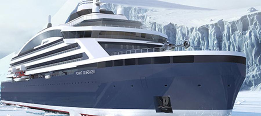 Круизный СПГ-ледокол отправится на Северный полюс в 2021 г.