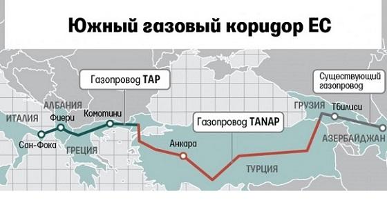 ЕС рассчитывает получать немножко газа из Туркменистана и Казахстана по Южному газовому коридору Голосовать!