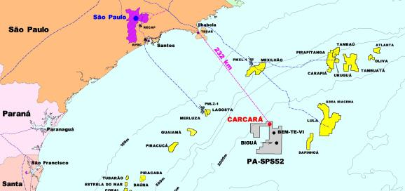 Statoil выкупил у Petrobras за 2,5 млрд долл США долю участия в разработке месторождения Каркара на шельфе Бразилии