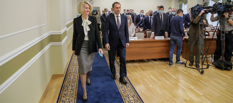 В. Абрамченко представила коллективу Минприроды нового министра А. Козлова