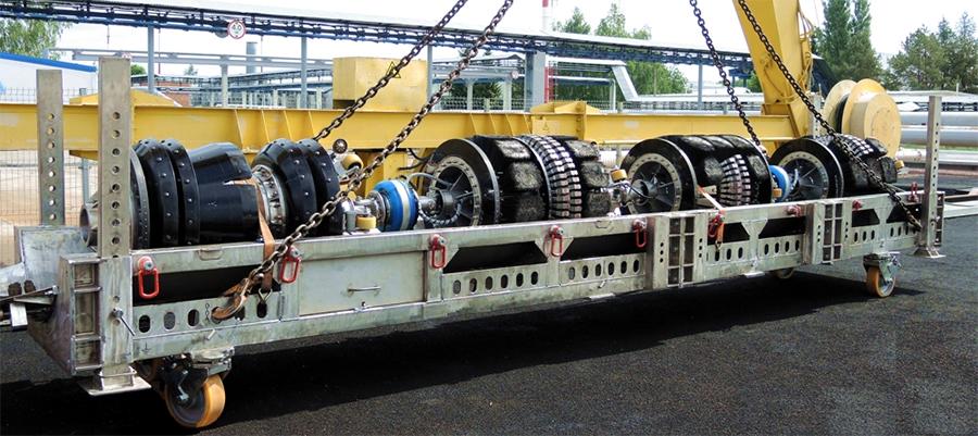 Транснефть – Диаскан ввела в эксплуатацию новый комбинированный магнитный дефектоскоп с функцией диагностики газопроводов